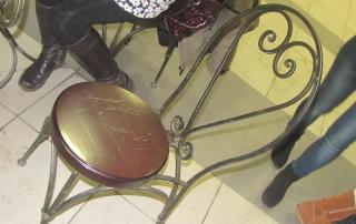 Кузницы Урала кованая мебель в Музучилище на Первомайской 22