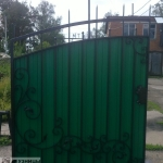 Кузницы Урала - кованые ворота, художественная ковка.