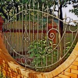 Кузницы Урала кованое ограждение (забор)